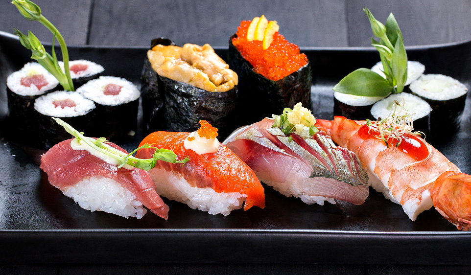 Photo of Sushi plate by Shooting Mafia Food Photographer taken in Manila